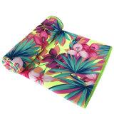De Handdoek van het strand bloeit de Grote Handdoek van het Strand van Microfiber van het Suède van L 90*170cm