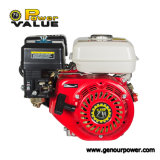 Gx160 Gx200 6.5HP 5.5HP 168fの4打撃小さいガソリンガスのガソリンエンジンのキーの開始