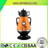Bouilloire électrique avec le Samovar peint de capacité du corps 3.2L d'acier inoxydable