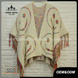 Tassels en tricot Fuzzy Women Winter Coat