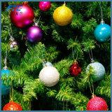 Bolas plásticas de la caída de las bolas del ornamento de la Navidad de la bola de la Navidad