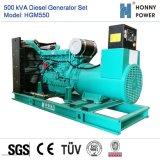 500kVA Googol 엔진 50Hz를 가진 디젤 엔진 발전기 세트