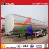 3 Axle 30-55cbm тяжелый сырой нефти топливного бака трейлер Semi