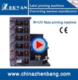 기계 (ZBRY)를 인쇄하는 Flexo&Flexography 자동적인 레이블
