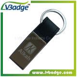Corrente chave do metal especial feito sob encomenda com logotipo do laser