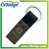Laser 로고를 가진 주문 특별한 금속 열쇠 고리