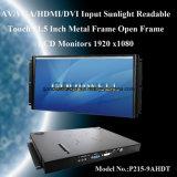HDMI ha immesso 21.5 il video dell'affissione a cristalli liquidi di pollice TFT