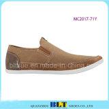 Chaussures occasionnelles de modèle d'espadrille supérieure neuve de cuir