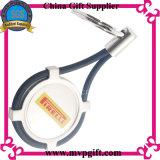 Anello portachiavi in bianco del metallo con il regalo di Keychain del metallo