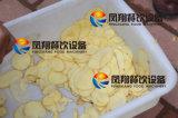 Le grand type machine de découpage de pommes chips, pomme de terre rapièce la machine de découpage