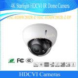 Dahua 4KのスターライトのHdcvi IRの機密保護CCTVのドームのカメラ(HAC-HDBW2802R-Z)