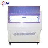Ensaio de resistência ao intemperismo UV de laboratório a máquina