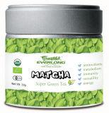Порошка зеленого чая Matcha имеющийся заказ EU Nop типа 100% супер японский органический аттестованный Jas малый
