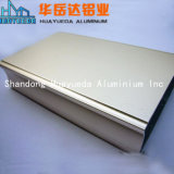 La rampa de extrusión de perfiles de aluminio para puertas de la ventana