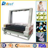 CCD Visual Camera Laser Cutting Machine Tela de tamanho grande / Couro / Logo / Etiqueta / Cortador de pano