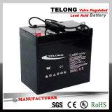 batteria al piombo del AGM del ciclo profondo 12V45ah per il sistema solare dell'UPS