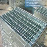 Решетка горячего DIP гальванизированная стальная для стального пола и крышки решетки шанца