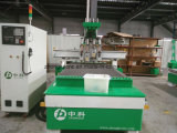 Машина маршрутизатора CNC пневматического автоматического инструмента изменяя деревянная с 4 шпинделями