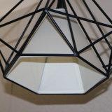 ホテルのプロジェクトのための熱い販売の黒の多角形のシンプルな設計のペンダント灯