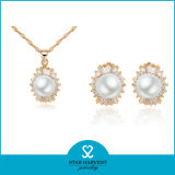 Conjunto de joyas de perlas de agua dulce Whosale