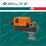 Vávula de bola motorizada del borde con el actuador/la vávula de bola motorizada del borde