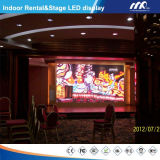 480*480mm Aluminum Muoiono-Casting Rental P4mm Indoor Full Color LED Display per Advertizing
