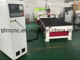 Anúncio de madeira CNC e máquina de carregador automático