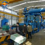 El pretratamiento y preservación de equipo para la placa de acero