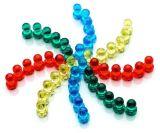 Magnete magnetico di cristallo personalizzato di Pin di spinta di colore