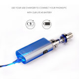 Jomo 상자 Mod Ecig 수증기 장비 라이트 40 수증기 Mods 최신 판매 Vape 펜 기화기
