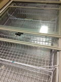 섬 어는 진열장 전시 냉장고
