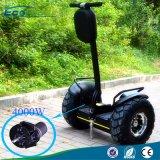 19 pulgadas de la vespa eléctrica del carro de la vespa 2X2000W 72V 633wh del equilibrio eléctrico de la rueda grande del camino
