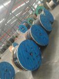 Câble en acier galvanisé en polyéthylène réticulé personnalisé sur le fil blindé Câble souterrain de l'utilisation/XLPE isolés en PVC du câble d'alimentation
