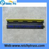ゴム製ケーブルの傾斜路2チャネル角ケーブルの保護装置