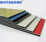 En matériau composite en aluminium pour mur rideau de matériaux de construction