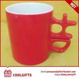 Kop van de Koffie van de Middag van het koekje de Ceramische met Promotie Speciale Aangepaste Vorm