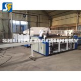 Rebobinando el papel/ máquina para hacer papel higiénico/ Precio máquina de hacer un rollo de papel