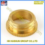 Piezas de torneado del CNC de la precisión de cobre (HS-TP-015)