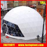 Tienda redonda de la bóveda geodésica del marco de acero para la venta