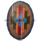 Form-Wholesale bunte ovale ethnische Stickerei-Änderung- am Objektprogrammkleid-Zubehör Abzeichen