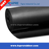 Folha de borracha CR Industrial / Neoprene Rubber Sheet Roll / Rubber Flooring Mat.