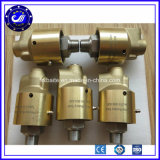 "1/2 "" 3/4 "" Basse vitesse Haute pression joint rotatif hydraulique de l'eau Joint de pivotement de l'Union de l'air rotatif"