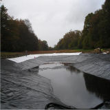 HDPEのGeomembraneの黒い防水シート
