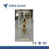 Specchio d'argento tessuto degli occhiali di protezione della parte posteriore della pellicola del tessuto/sicurezza/specchio da 2-8mm