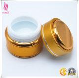 L'intero insieme 15g svuota il vaso crema di alluminio del vaso interno di ceramica
