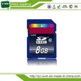 Cartão de memória do SD de um código de 16 GB micro