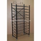 11 Capas Embriagador Deber de metal felpudos estante de exhibición (PHY3019)