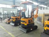 La Chine un fonctionnement facile Mini-excavatrice chenillée pour la vente de chenille