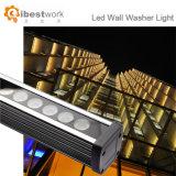 Lumière de rondelle de mur de façade d'Oudoor DEL RVB 36W DMX