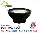최신 판매 산업 정착물 IP65 200W UFO LED Highbay 빛, LED 산업 가벼운 창고를 사용하는